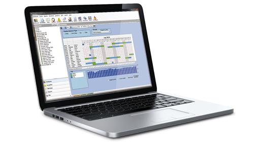 Focus screen on laptop