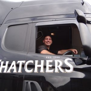 Thatchers Cider delivery truck