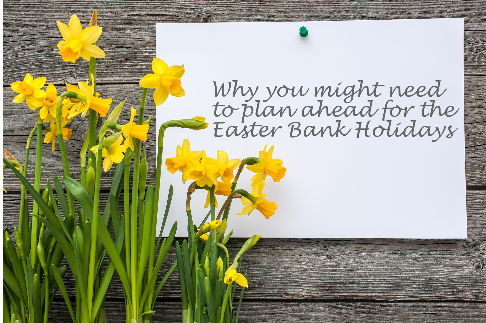 Why employers may need to plan well ahead for Easter 2016