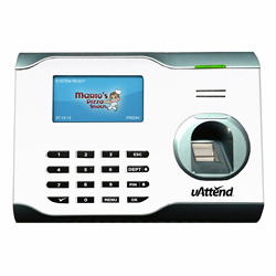 uAttend Professional BN5000 series biometric fingerprint clocking in terminals